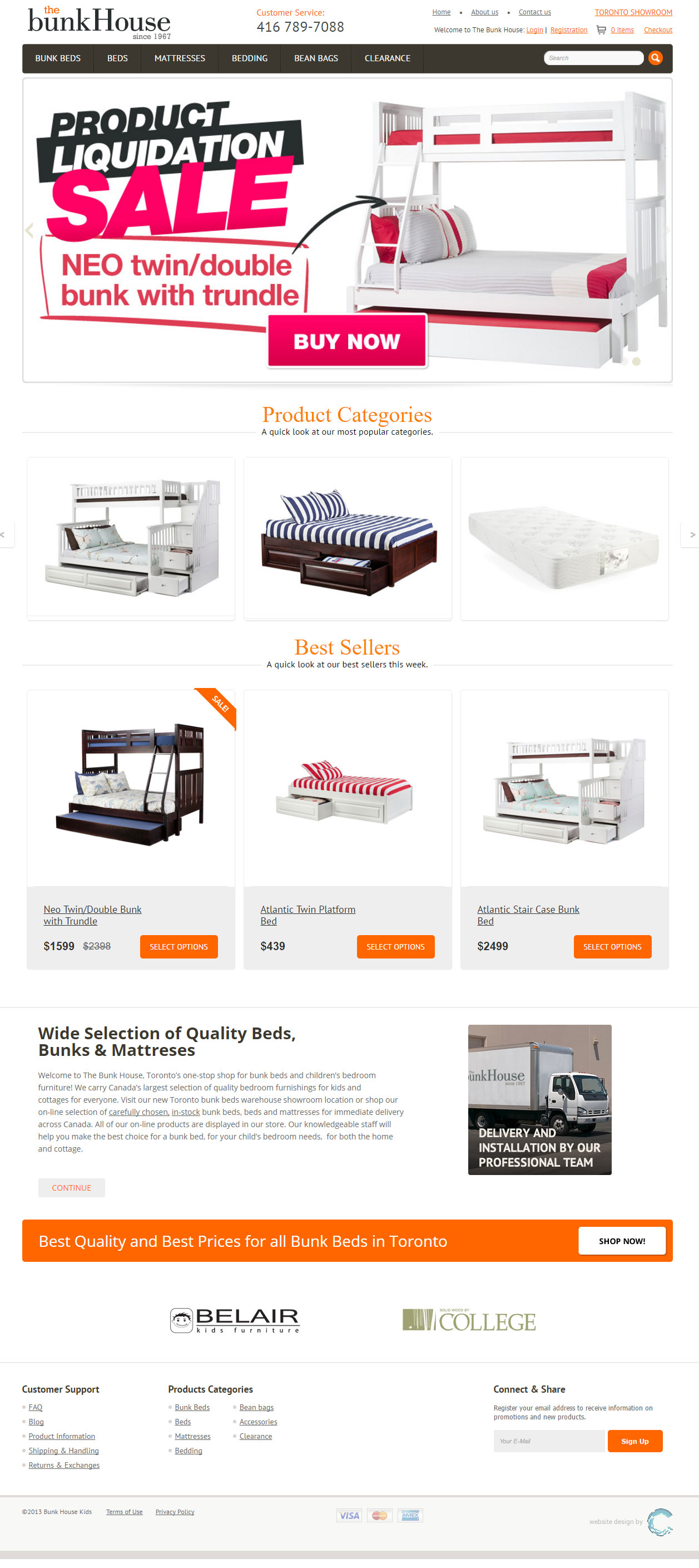 Kid Beds Retail Store