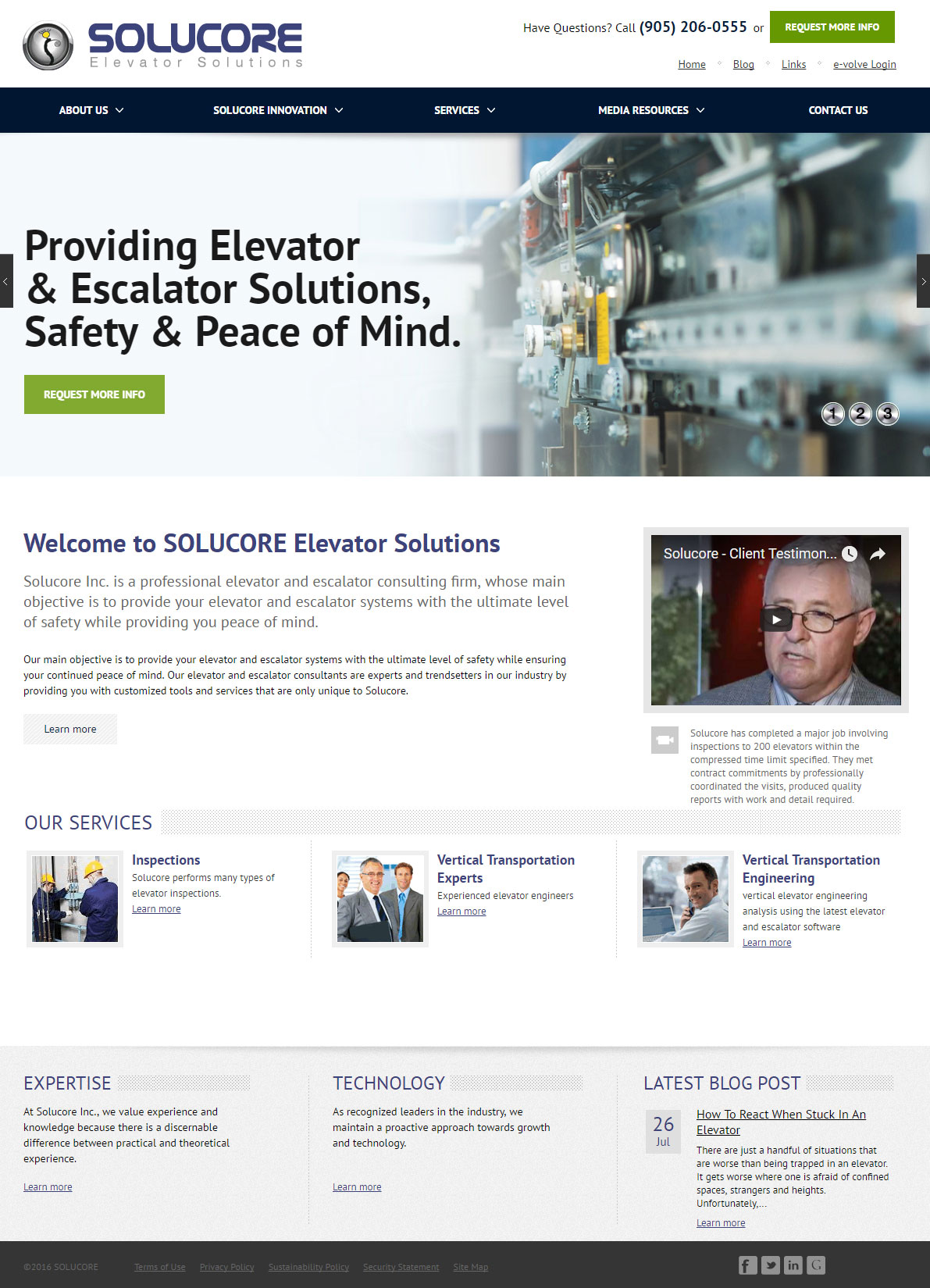 Elevator & Escalator Solutions